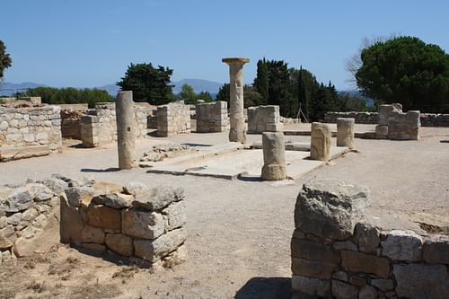 Atrium, Domus No. 1, Empuries (by Mark Cartwright)