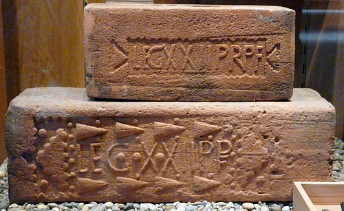 Roman Stamped Bricks