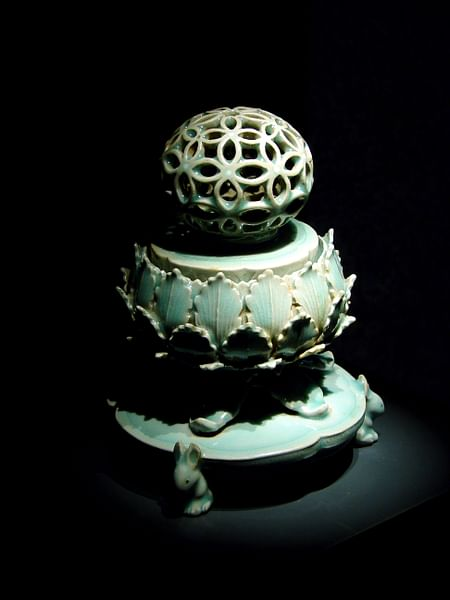 Korean Celadon Incense Burner