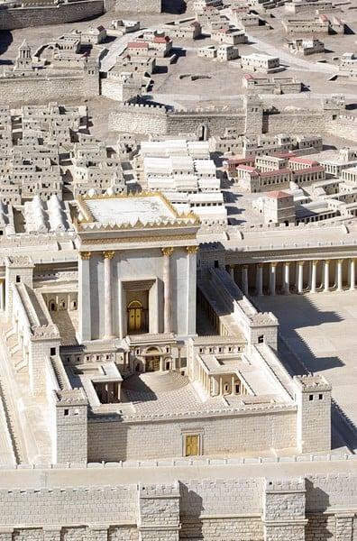 Model of Herod's Renovation of the Temple of Jerusalem