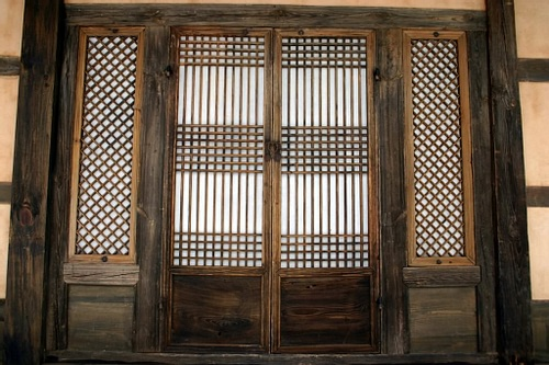 Korean Hanji Paper Doors