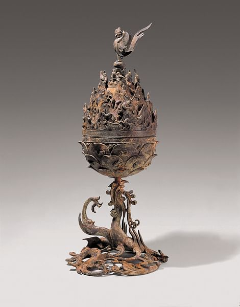 Baekje Incense Burner (by National Museum of Korea, CC BY)
