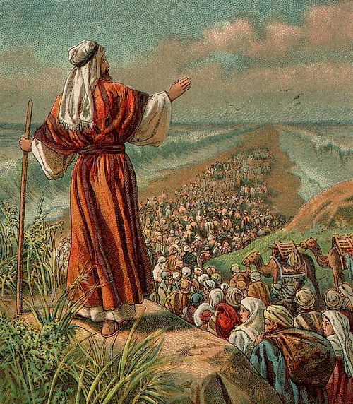 Moses & the Parting of the Red Sea
