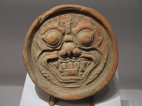 Goguryeo Roof Tile (by Pressapochista)