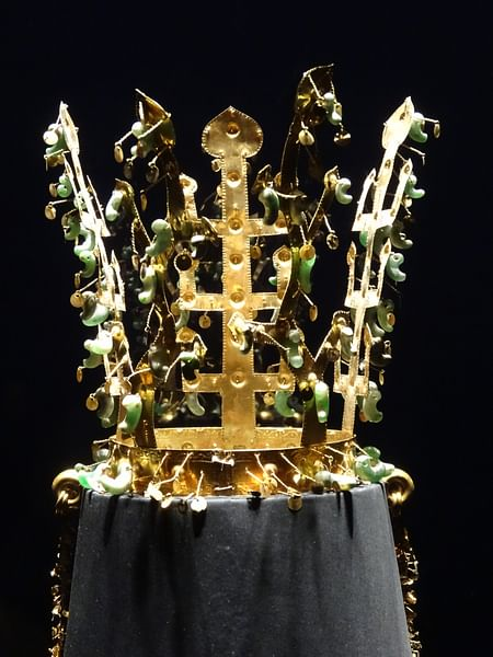 Gold Silla Crown
