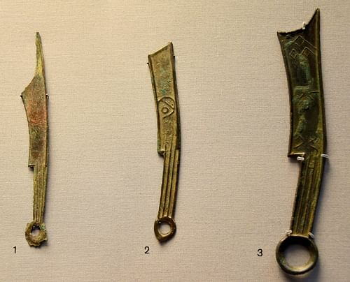 Knife Money from Ancient China
