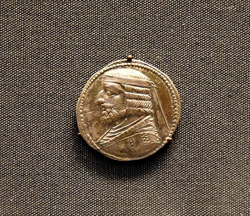 Silver Coin of a Parthian King
