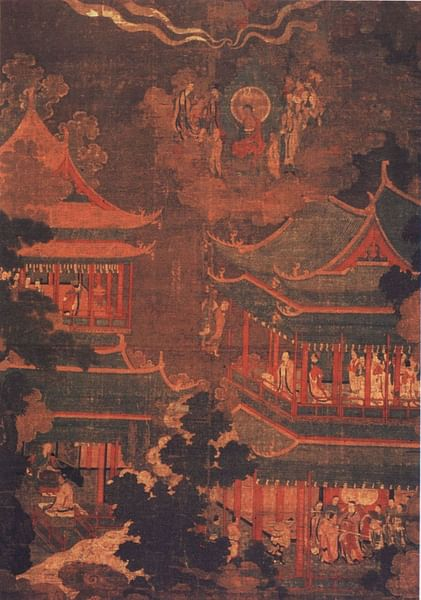 Goryeo Palace Painting (by Unknown Artist, Public Domain)