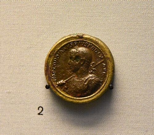 Bimetallic Medallion of Emperor Gordian III