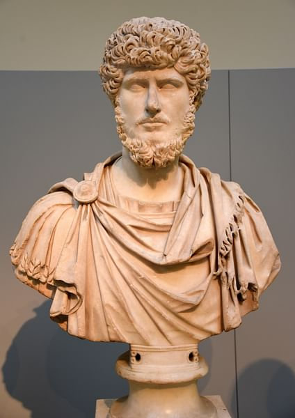 Bust of Lucius Verus (by Osama Shukir Muhammed Amin)