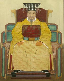 Taejo of Goryeo (Wang Geon) (by Unknown Artist, Public Domain)