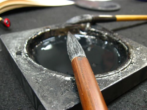 Traditional Calligraphy Brushes