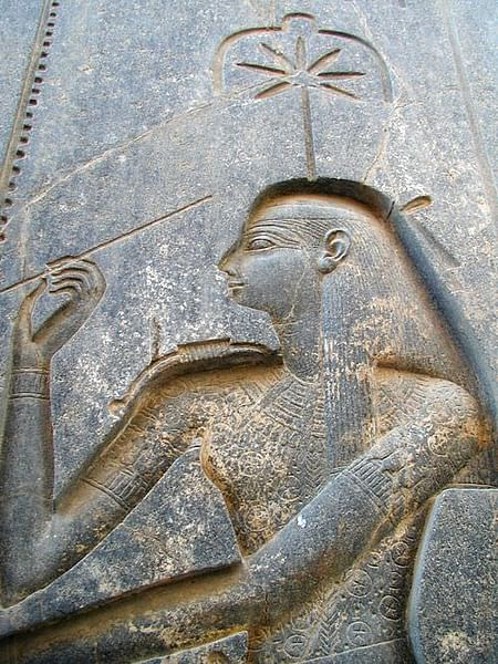 Seshat, Luxor Temple (by Jon Bodsworth, CC BY)