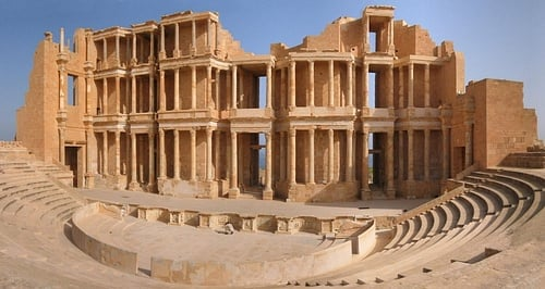 Roman Theatre of Sabratha (by duimdog)