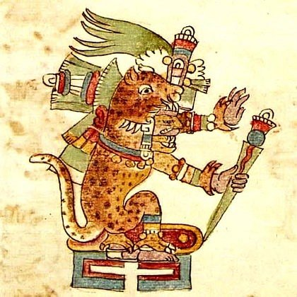 Tezcatlipoca, Codex Rios
