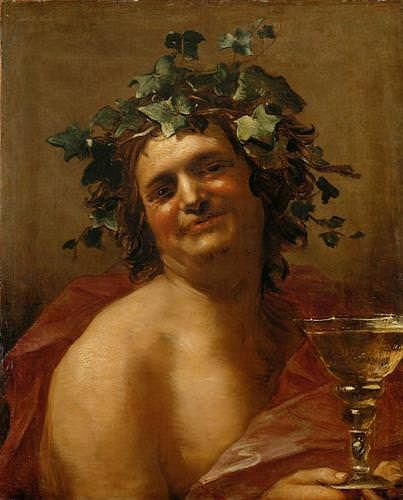 Bacchus by van Dalen (by Jan van Dalen, Public Domain)