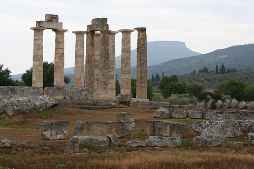 Nemean Temple of Zeus (by Mark Cartwright, CC BY-NC-SA)