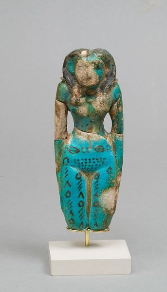 Egyptian Tattooed Figurine