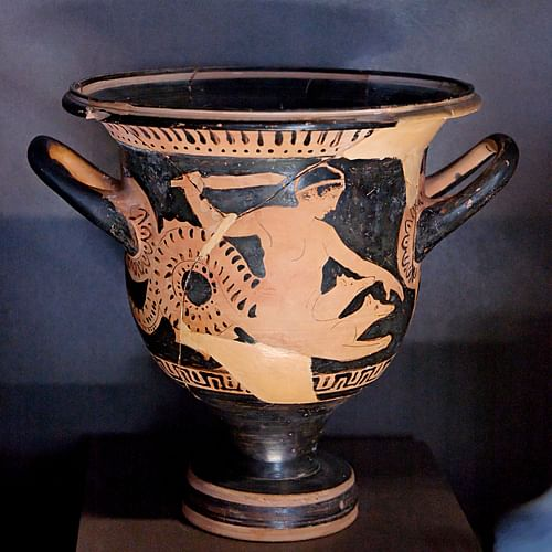 Scylla, Red-Figure Vase