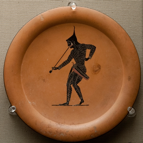Attic Black-figure Plate, Vulci