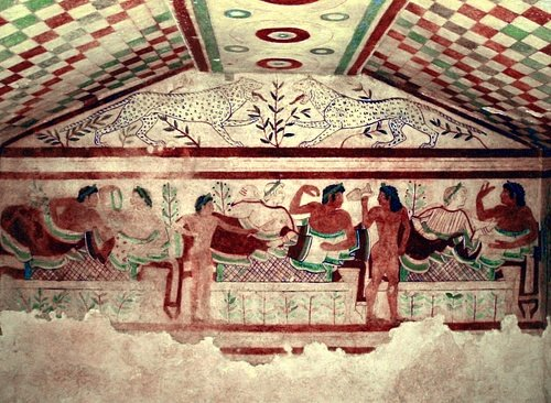 Tomb of The Lionesses, Tarquinia