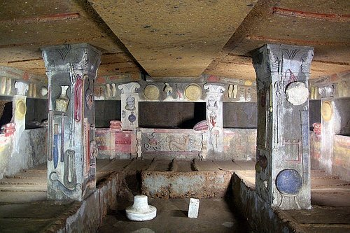 Tomb of the Reliefs, Cerveteri