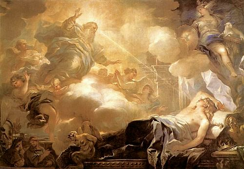 Dream of Solomon (by Web Gallery of Art, Public Domain)