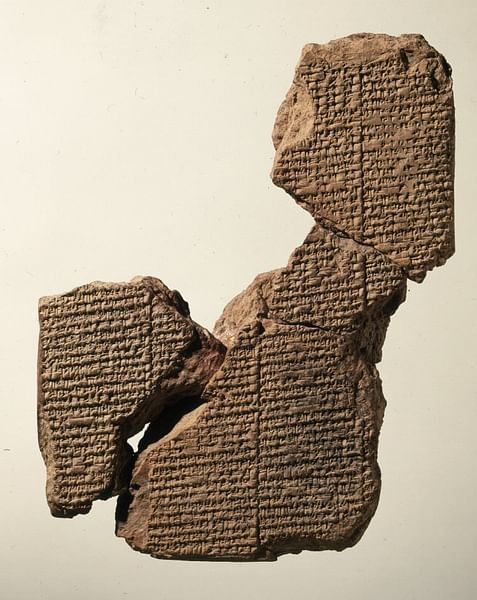 The Atrahasis III Tablet