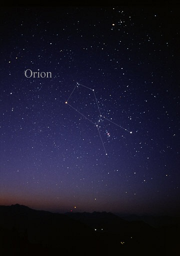 Orion - the Constellation