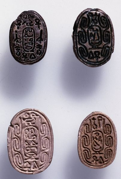 Hyksos Scarab (by The Trustees of the British Museum, Copyright)
