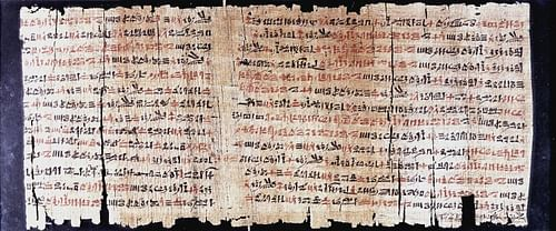 Papyrus Chester Beatty VI
