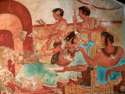 Etruscan Diners, Tarquinia