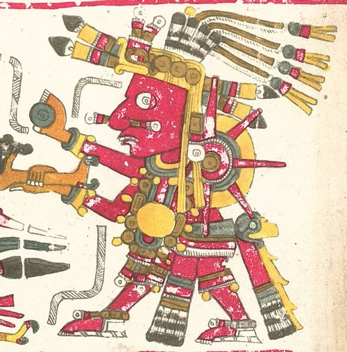 Tonatiuh, Codex Borgia