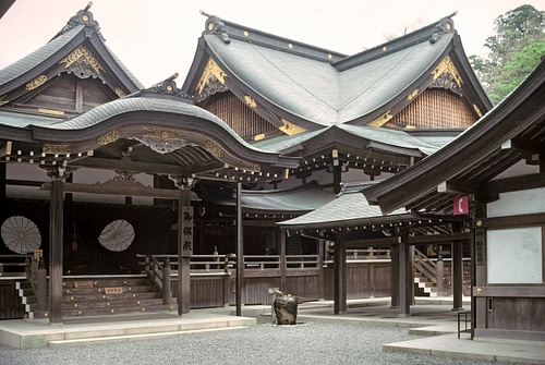 Kaguraden at the Ise Grand Shrine