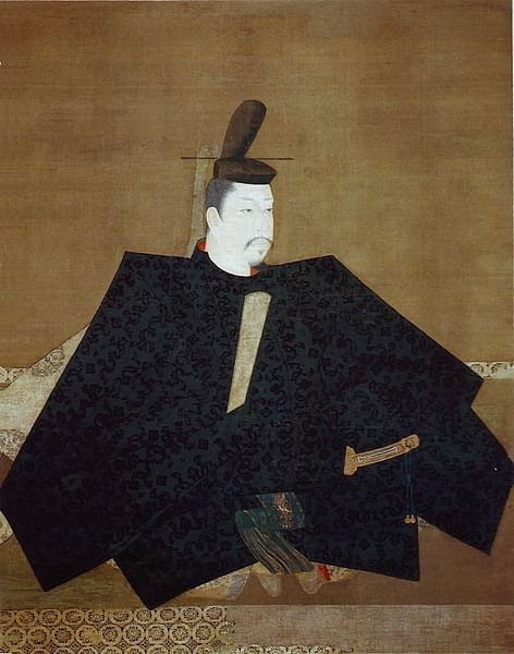 Minamoto no Yoritomo Painted Wall-hanging