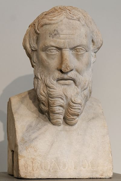 Herodotus (by Photograph by Marie-Lan Nguyen)