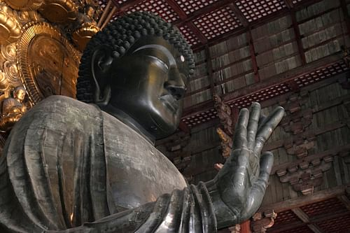 Buddha, Todaiji Temple (by James Blake Wiener)
