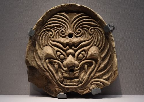 Demon Ridge-end Tile, Nara