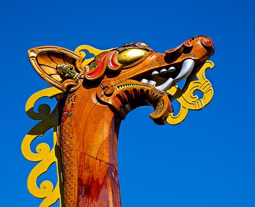 Viking Boat Figurehead (by Jamie McCaffrey)