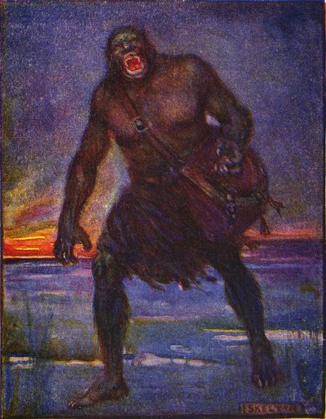 Grendel from the Beowulf