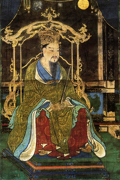 Emperor Kammu (by Unknown Artist, Public Domain)