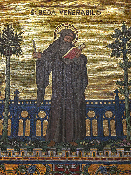 Bede the Venerable (by Fr. Lawrence Lew, O. P., CC BY-NC-SA)