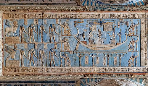Dendera Temple Ceiling
