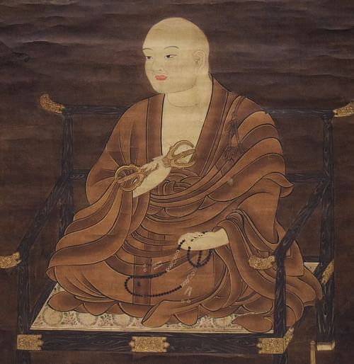 Kukai Silk Portrait (by James Blake Wiener, CC BY-NC-SA)