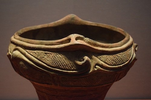 Jomon Bowl (Detail) (by James Blake Wiener, CC BY-NC-SA)