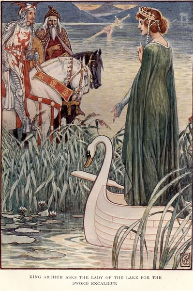 King Arthur & the Lady of the Lake