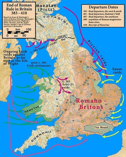 Grã-Bretanha 383-410 CE