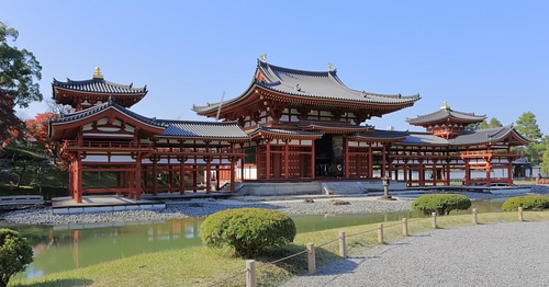 Phoenix Hall, Byodo-in, Uji (by Martin Falbisoner, CC BY-SA)