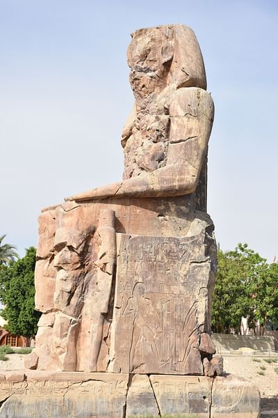 Colossus of Memnon (Side View)