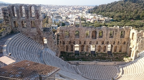 Stage, Theatre of Herod Atticus